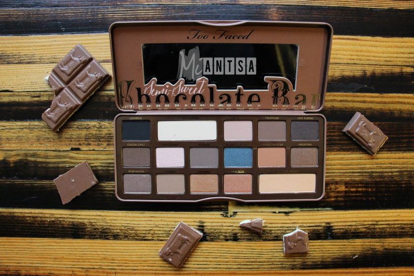 The Semi Sweet Chocolate Bar Palette Photos Swatches And